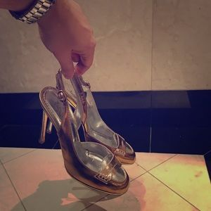 YSL Shoes (Gold/Silver)
